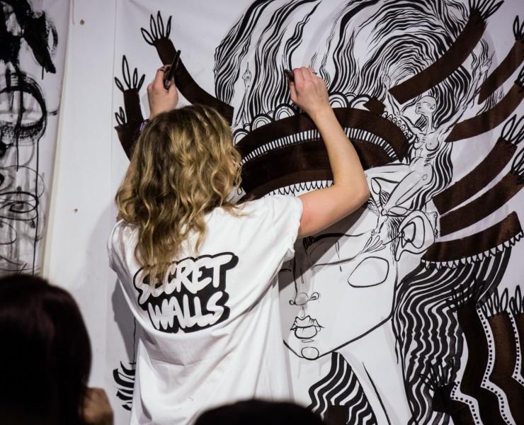 Secret Walls Pre-Series Paint Jam