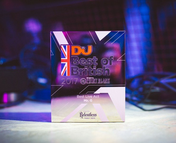 DJ MAG BEST OF BRITISH AWARDS: WINNERS